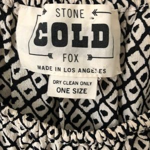 Stone Cold Fox Tops - Stone Cold Fox Black and White Idaho Blouse
